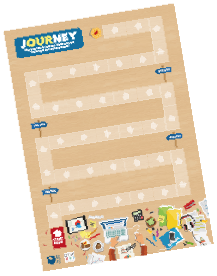 Our Journey board